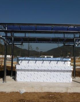 3M양면지붕분리형음수대 (3단지붕형 …